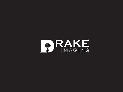 Drake Imaging Logo Design modern flat mnimalist logo design visual identity stationery branding minimalist logo minimal modern logo iconic logo design logo logos