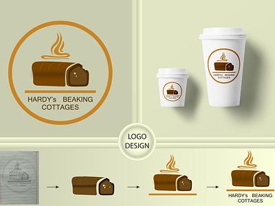 Bakery Logo Design visual identity stationery design brand logos modern illustrator minimalist logo vector modern logo logo design branding design logo bakerylogo