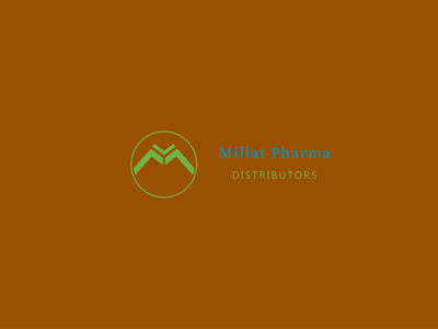Millat Pharma Logo Design lettering logo minimalist logo design logo pharmacy logo modern vector illustrator logodesign flat minimalist logo modern logo logo design branding design