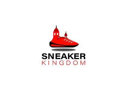 Sneaker Kingdom logo visual identity modern store logo website logo logos logodesign minimalist logo modern logo design logo design logo branding sneakers logo sneakers