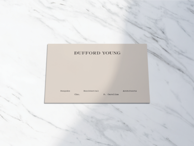 Dufford Young Stationery Exploration