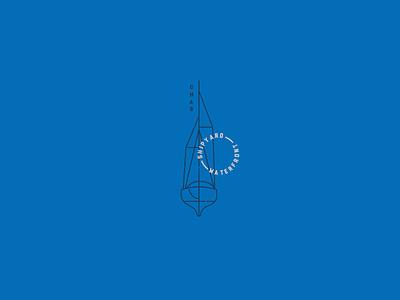 Ketch shipyard boat identity logo branding