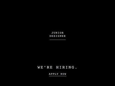 Junior Designer junior designer branding charleston design jobs