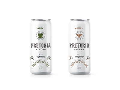 Pretoria Can Concepts brand development stout slow beer packaging beer