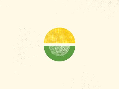 Sunny Limes lime sun taco brand exploration logo