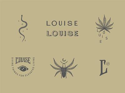 Louise Secondary Marks 01 mark charleston type cbd design branding typography identity logo illustration brand development