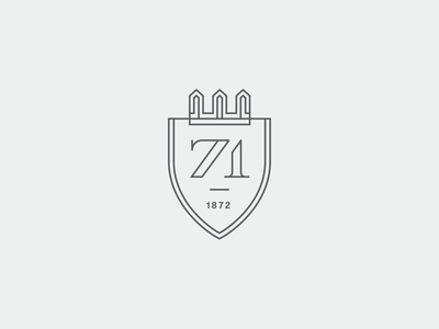 71 Wentworth Graphic Element 01 crest sdco charleston monogram design mark illustration branding typography identity logo brand development