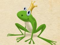 Chuckable Frog