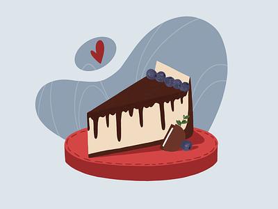 CAKE picture art illustration design artists artist colors draw sketchbook design oreo illustration cake
