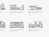 American Baseball Stadiums