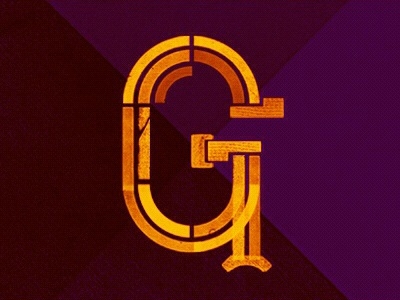 Type Fight G g type fight typography lettering texture
