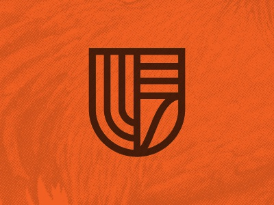UrbanEater Mark logo shield urban farm food icon