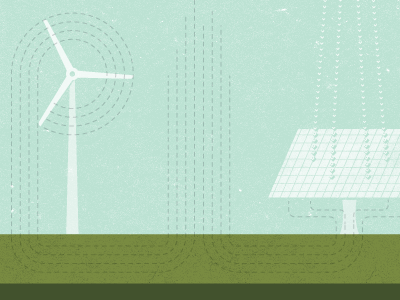 Clean Energy windmill solar power electricity