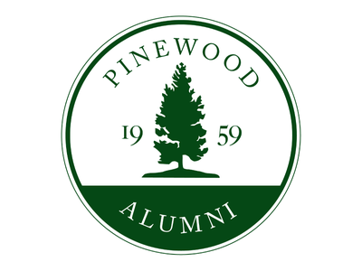 Pinewood Alumni Logo logo high school alumni pinewood badge
