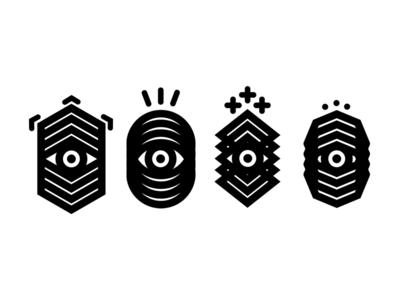 Gloom eyes icon graphic design eye black dark branding work logotype logo icons