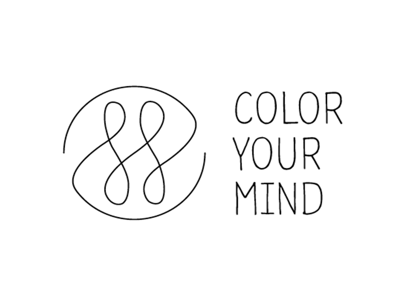 Offtime  logo clean simple minimal off time color your mind