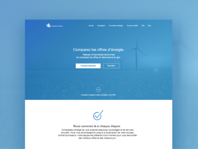 Landing Page - Energy