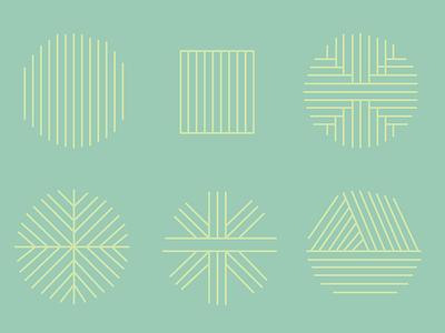 Wallonie Design invitation geometric simple stripes wood illustration