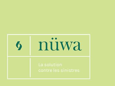 Nüwa - identity typography baskerville fire impact sign identity logo