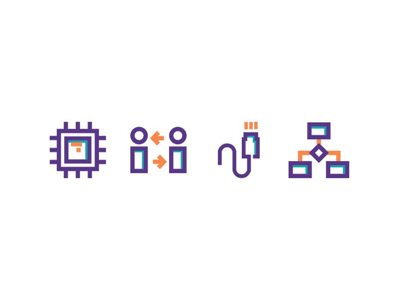 MBI icon simple web app design graphic icon logo ux ui