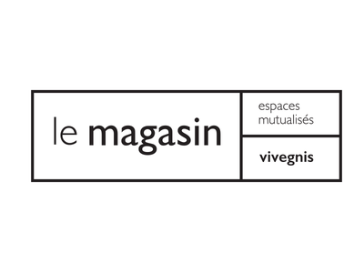 le magasin clean clear simple icon logo ui ux design id graphic