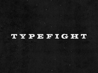 TypeFight 2.0 Wordmark