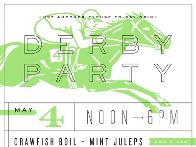 Derby Party derby kentucky derby day-drinking rules