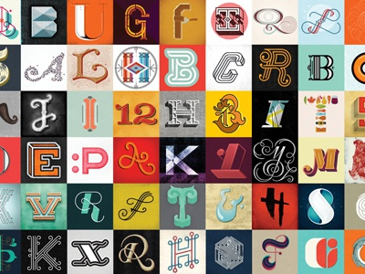 One Year of Type Fight typefight typography amazing thank you letter overload