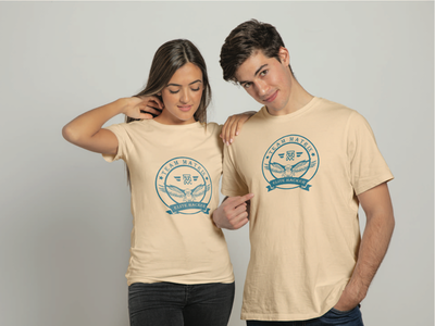 Couple t shirt design