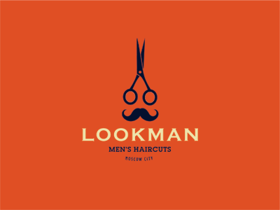 Lookman haircuts scissors man onion mustache