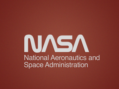 NASA Worm Logo Freebie (EPS) nasa vintage space freebie worm logo logo vector