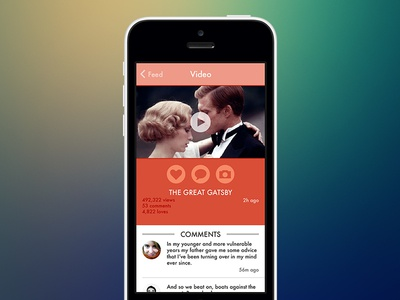 Wes Anderson UIViewController ios iphone ios7 wes anderson video app futura