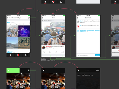 Feeling Wired ios user flow wire mobile ux