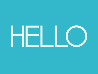 B) Eyeballing—or the Geometry of Type for Beginners typography font type font40