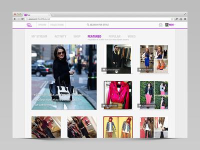 Pose Web Redesign pose ui web redesign