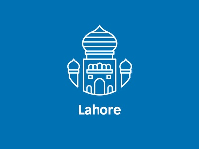 Icon for Lahore asia pakistan illustration iconography icon lahore