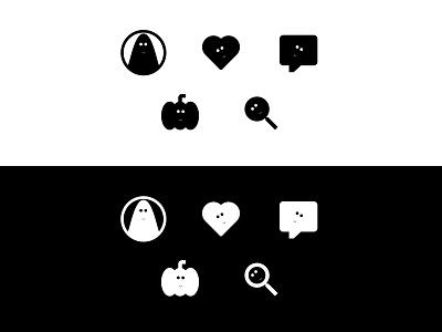 55. Icon Set icon flat logo design figma
