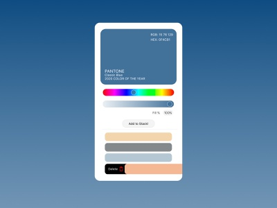 60. Color Picker colors figma minimal dailyui design