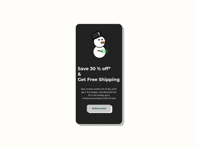61. Redeem Coupon redeem coupon vector minimal dailyui design