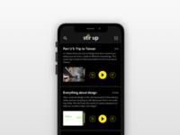 AV blog concept
