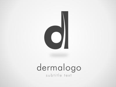 DermaLogo branding design typography symbol logo design startups companies logo