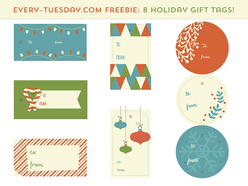 9abf2bc0b0cf2 Free Holiday Gift Tags by Teela Cunningham