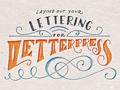 Laying Out Your Lettering For Letterpress lettering hand lettering letterpress class skillshare tutorial how to free wedding invitation