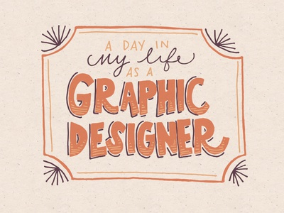 A Day In My Life as a Graphic Designer peek glimpse day typical life graphic design designer routine video