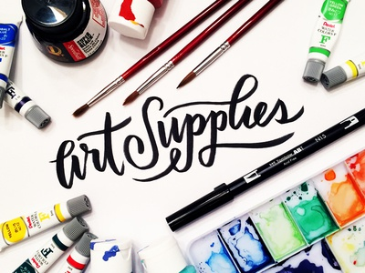 Current Art Supplies in My Toolbox products roundup design watercolors watercolor toolbox supplies art