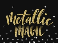 Metallic Magic photoshop textures texture how to magic metallic class tutorial glitter foil skillshare