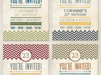 Invitation Postcards