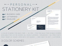 Personal Stationery Kit