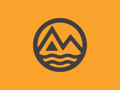 M LOGO MARK illustration simple logo mark icon design iconography icon illustrator vector logo branding