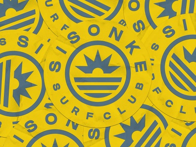 SISONKE SURF CLUB logo design graphic design branding logo
